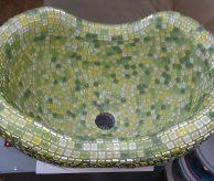 Курна с зелёной мозаикой, вид сверху